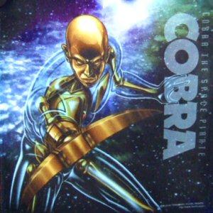 Cobra the Space Pirate - Drapeau/serviette 20x20 cm