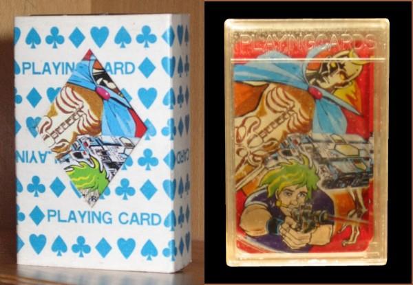 Space Cobra jeu de carte (bootleg)