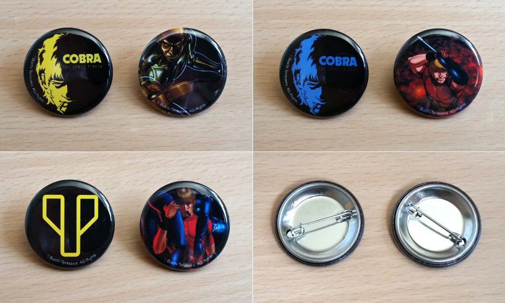 Cobra the Space Pirate - Pin's 2014
