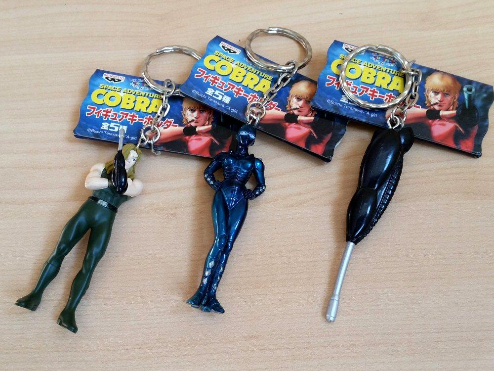 Space Cobra - Porte-clés 2001