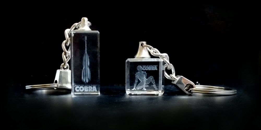 Cobra the Space Pirate - Porte-clés Crystal 3D 2012