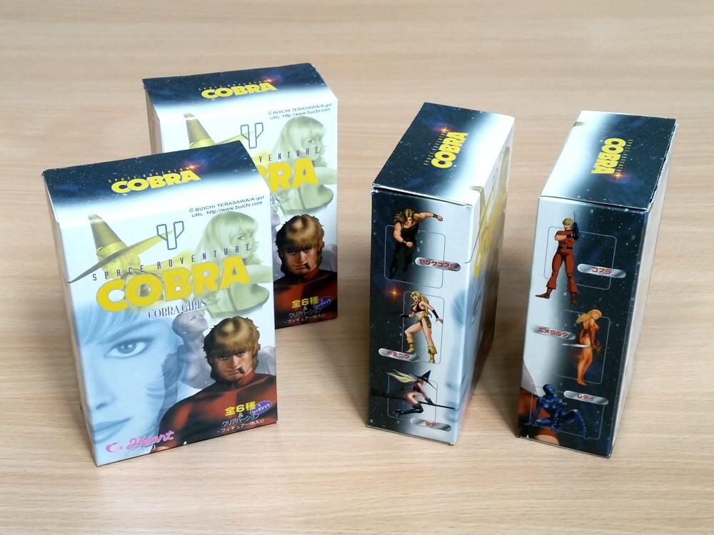 Space Adventure Cobra - figurines Heart