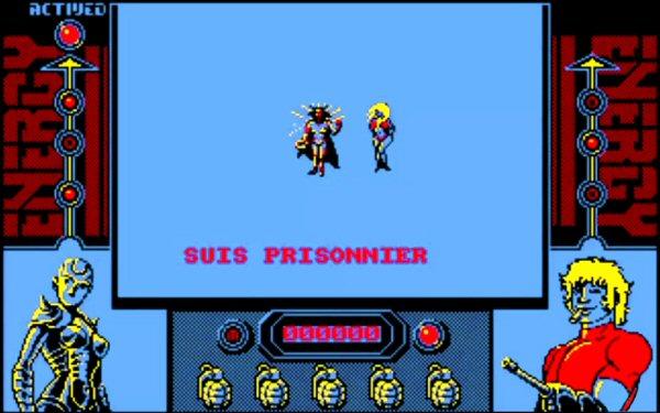 Space adventure Cobra - Jeu vidéo pour Amstrad CPC (1987)