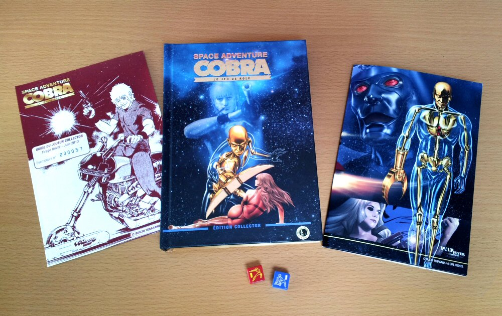 Cobra the Space Pirate - Pulp Fever le jeu de rôle Cobra