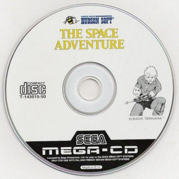 Space adventure Cobra - Jeu sur Sega CD (1995) - Version Europe