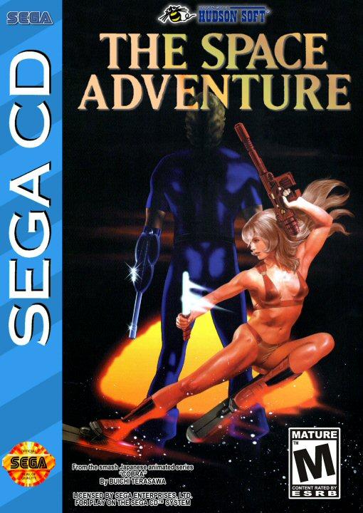 Space adventure Cobra - Jeu sur Sega CD (1995) - Version US
