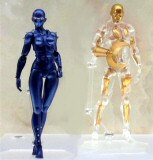 Figurines Figma : Lady et Crystal Bowie