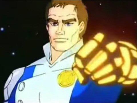 Space Cobra inspire - Galaxy Rangers