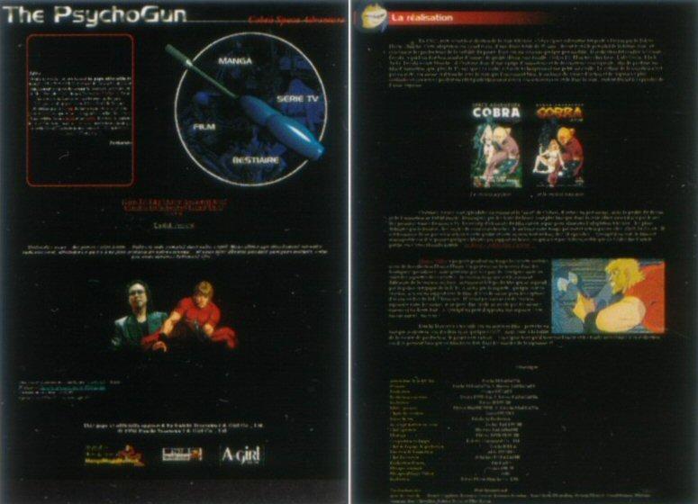 Space adventure Cobra - 10 ans de Cobraworld - The Psychogun