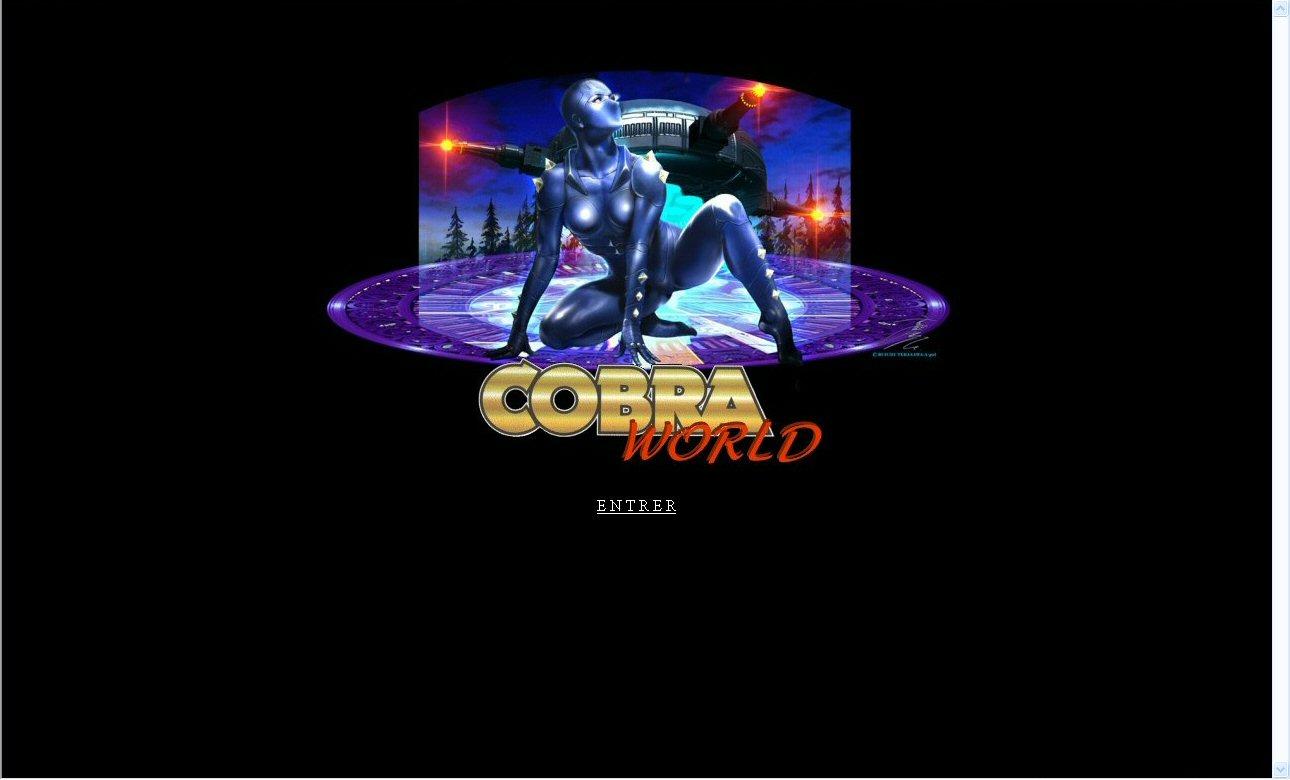 Space adventure Cobra - 10 ans de Cobraworld - Site en 2001
