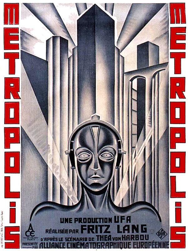 Space adventure Cobra - Le film Metropolis de Fritz Lang