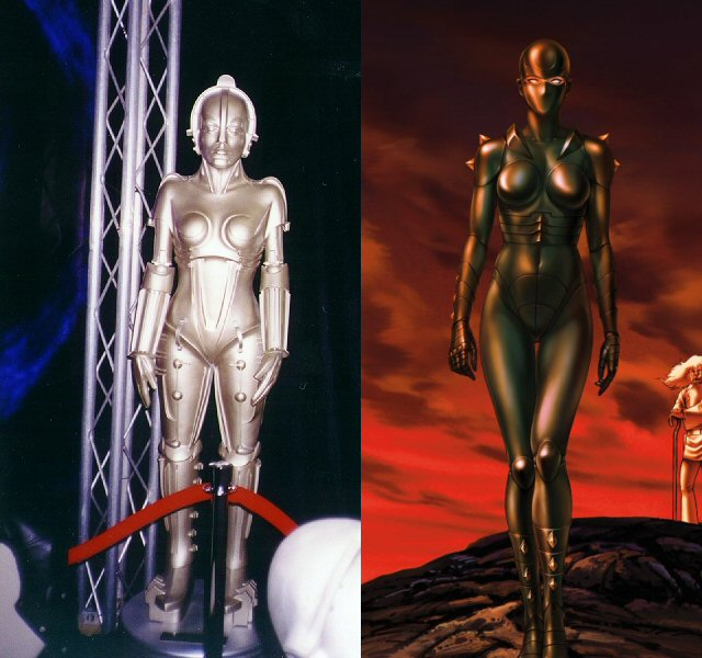 Space adventure Cobra - Armanoïde et son ancêtre