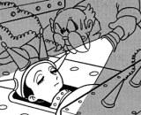 Metropolis d'Osamu Tezuka - Le Dr Lawton réveille Mitchy